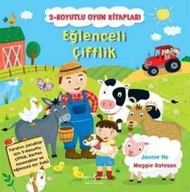 Eğlenceli Çiftlik / 3-Boyutlu Oyun Kitapları