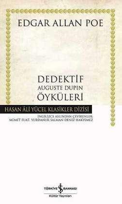 Dedektif Auguste Dupin Öyküleri Ciltli