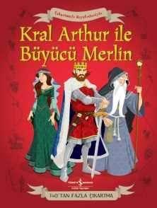 Çıkartmalı Kıyafetleriyle Kral Arthur ve Büyücü Merlin