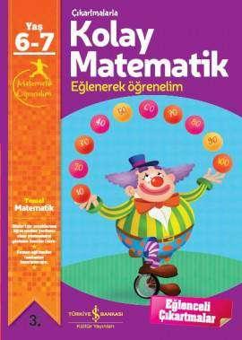 Çıkartmalarla Kolay Matematik 6 – 7 Yaş