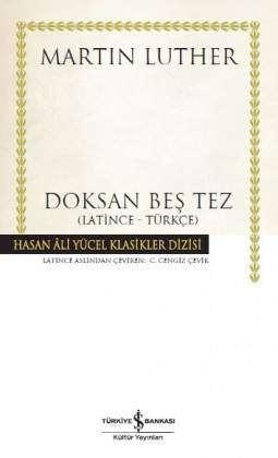 Doksan Beş Tez (Latince – Türkçe) – Ciltli