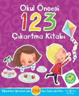 Okul Öncesi 123 Çıkartma Kitabı